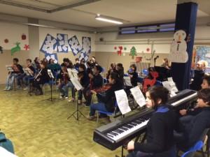 Concerto di Natale 2013 degli allievi dell'indirizzo musicale della scuola Calvino