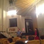 Cristina Giachi ed il Maestro del Coro