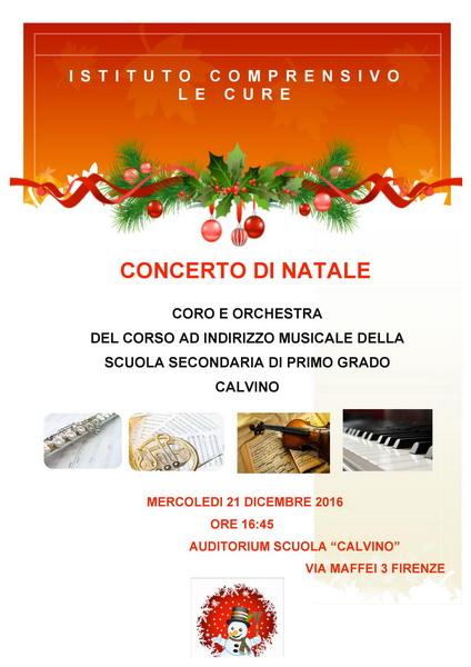 locandina concerto Natale