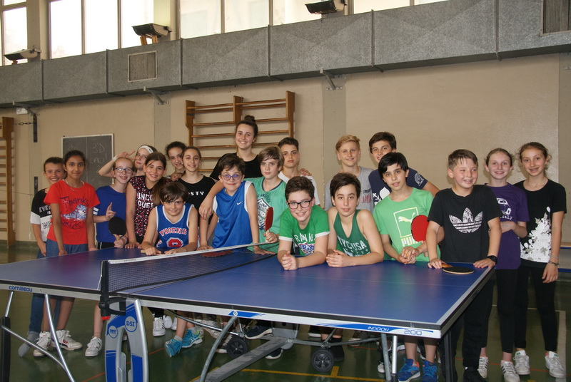Partecipanti Torneo Ping Pong classi prime